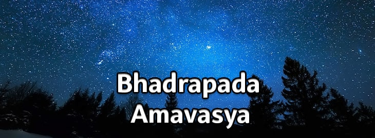 Bhadrapada Amavasya
