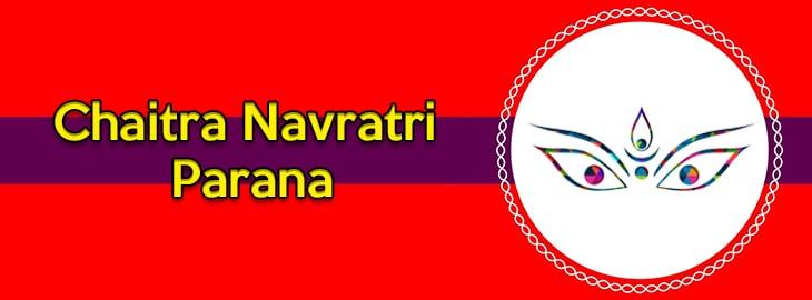 Chaitra Navratri Parana
