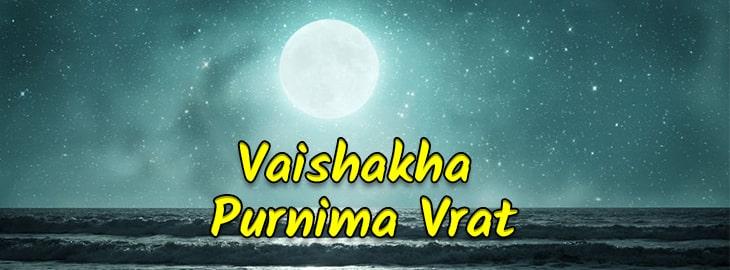 Vaishakha Purnima Vrat
