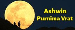 Ashwin Purnima Vrat