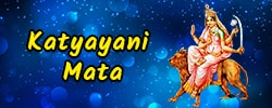 Maa Katyayani Puja