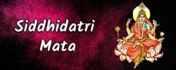 Maa Siddhidatri Puja